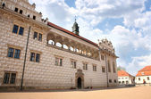 Castle Litomysl, Czech republic — Stockfoto