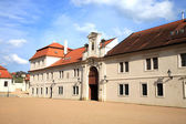 Old castle administrative buildings in Litomysl, Czech Republic — Stock fotografie