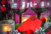 圣诞节和新年卡 — 图库照片