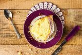 Cake baking food dough sweets dessert — Stock Photo