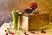 Vintage de fruits groseilles groseille — Photo