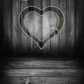 Tło drewniany panel deski szary — Zdjęcie stockowe