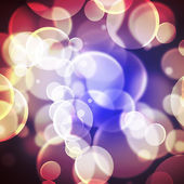 Colorful background blurred lights circle — Stock Photo