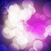 Colorful background blurred lights circle — Foto Stock