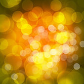 Abstract orange green circular bokeh background blur — Stock Photo