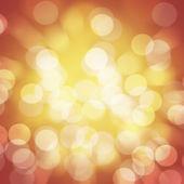 Abstract orange yellow circular bokeh background blur — Stock Photo