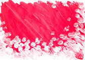 Abstract red white background painted watercolor — Stock Photo