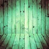 Interior room wooden walls floors — Foto de Stock
