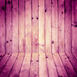 Stock Photo: Interior room wooden walls floors