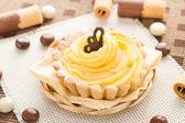 Tatlı kek çikolatalı gofret şekerleme — Stok fotoğraf