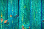 Wall wooden planks painted green — Stock Photo