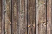 Assi in legno verniciati marrone — Foto Stock