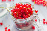 Taze renkli yaz meyve kavanoz hazırlama ürünleri işleme — Stok fotoğraf