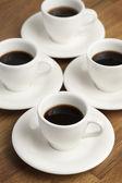 Filiżanki kawy. — Zdjęcie stockowe