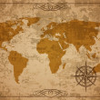 Old Map. Vector Paper texture — Stock Vector