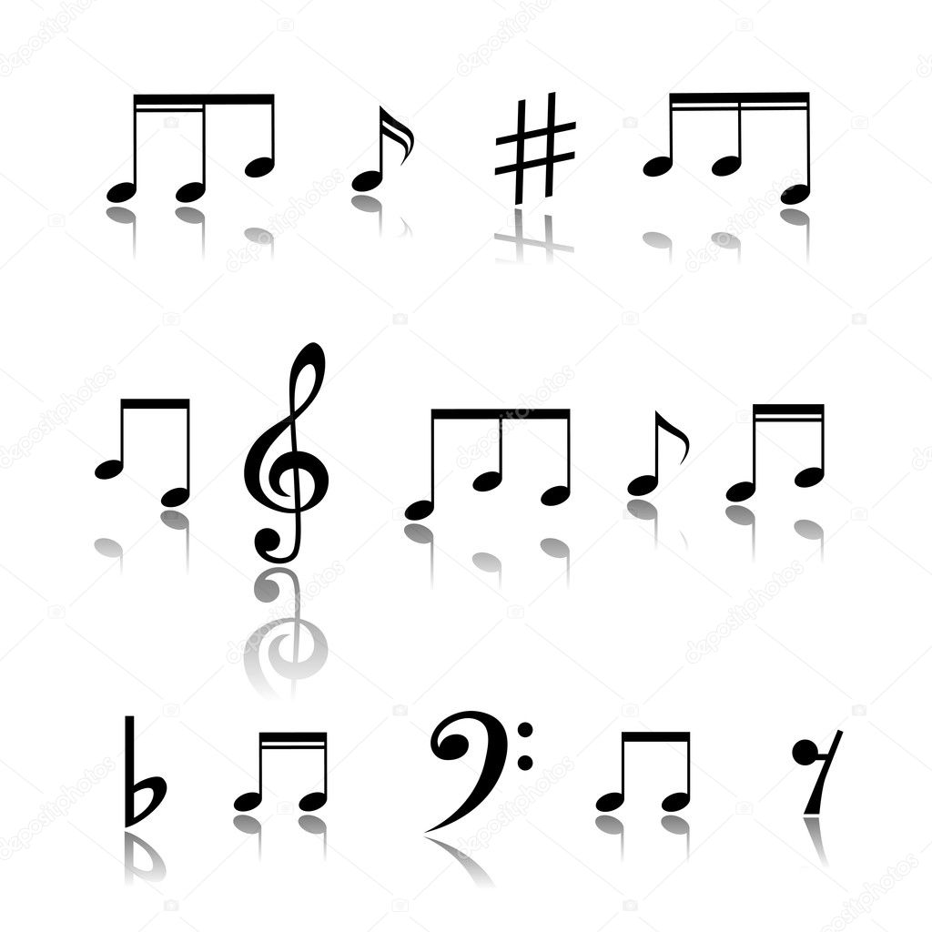 Music Notes. — Stock Vector #13882290