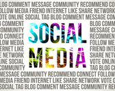 Social Media — Stockvector
