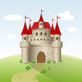 Castelo de conto de fadas — Vetorial Stock