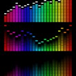Vector digital gradient equalizer — Stock Vector #4824797