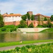 Wawel - Royal castle in Cracow, Poland — Stock Photo #10626284