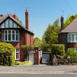 Typical english Houses — Stock Photo