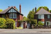 Casas típicas de inglés — Foto de Stock