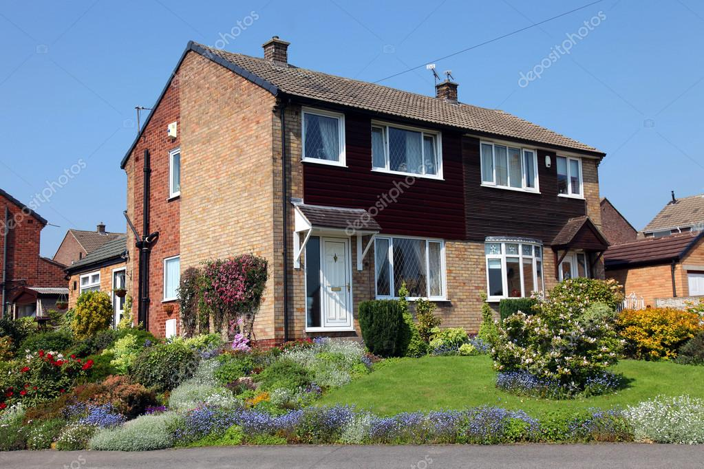 Casas de tijolo t pico na inglaterra fotografias de - Inglaterra en casa ...