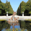 Fountain in Schoenbrunn park, Vienna, Austria. — Stock Photo
