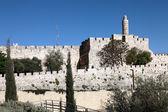 Tower of David, Jerusalem — Stock Photo