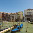 Gondola on the Grand Canal Venice, Italy — Foto de Stock