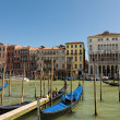 Gondola on the Grand Canal Venice, Italy — Stockfoto