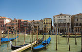 Gondola on the Grand Canal Venice, Italy — Stock Photo