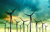 Wind Power — Stockfoto