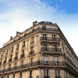 Paris Apartments block — Stock Photo
