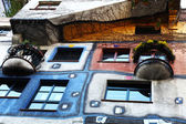 Hundertwasser house, vienne, autriche — Photo