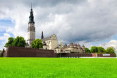 The Jasna Gora sanctuary in Czestochowa, Poland is most important pilgrimage place — Stock Photo