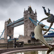 Tower Bridge in London — Foto Stock #26315421