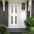 Stock Photo: English front door.