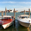 Water taxi on the Grand canal in Venice — ストック写真 #3124340