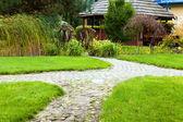 Pathway in the garden — Stock Photo