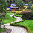 Beautiful park garden  — Stockfoto