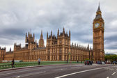 The Big Ben, and the Houses of Parliament in London — Stock Photo