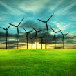 Eco-Energy, conceptual image — Stock Photo