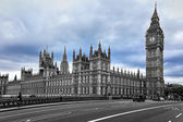 London.The Big Ben and the Houses of Parliament — Stock fotografie