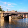 Famous bridge and River in york,uk — Stock Photo #5869392