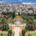 Bahai Gardens in Haifa — Stock Photo #10356027