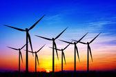 ветряные мельницы — Стоковое фото