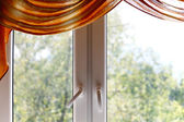 Plastic window — Stockfoto