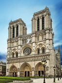Notre Dame Cathedral in Paris — Стоковое фото
