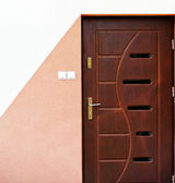 Outdoor door — Stock Photo
